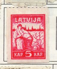Latvia 1919-21 Early Issue Fine Mint Hinged 5k. 182304