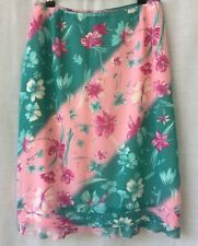 Events Size 14 Skirt Floral Special Occasion Evening Cocktail Tea Party Wedding