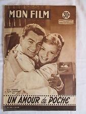 MON FILM 596  (1958) UN AMOUR DE POCHE JEAN MARAIS AGNES LAURENT VIRGINIA MAYO