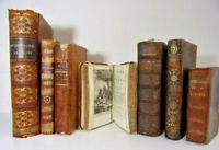 Lot livres reliés. Contes - Histoire orientale 1781 -Dictionnaire - bibliothèque