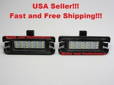2015 2016 2017 Ford Mustang LED License Plate Lights Housings Bright 6000K New!!