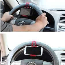 Volante de teléfono móvil manos libres de navegación en auto soporte montaje de