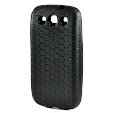 Arc™ Samsung Galaxy S III i9300 Extended Battery HoneyComb TPU Case Black