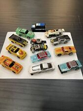 Tyco Vintage TCR  Cars & Parts Lot Of 13 Sold As Is Not Tested