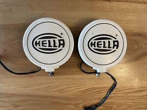"Hella 005750941 500FF-Series 6.4"" 2x55W Round Driving Beam Lights"