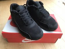 NIKE AIR MAX 90 Ultra 2.0 TRAINERS BLACK school Shoe MENS BOYS UK SIZE 4 EU 36.5