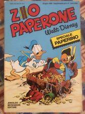 ZIO PAPERONE SPECIALE PAPERINO SUPPLEMENTO AL NUMERO 8.....LEGGI DESCRIZIONE