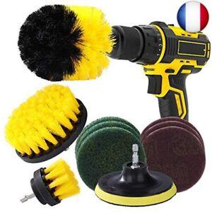 Brosse pour Perceuse kit de Nettoyage de Perceuse Electrique Drill Brush