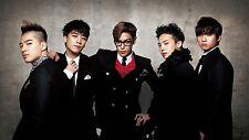 """BIG BANG KPOP Korea Boy Band Girl Group Silk Poster Prints 12x20"""" BIGB2"""