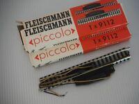 Fleischmann Piccolo binario sganciavagoni elettrico art.9112 lungh. 111 mm
