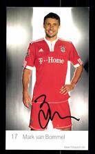 Mark van Bommel Autogrammkarte Bayern München 2009-10 Original Signiert+ C 2573