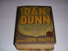 Dan Dunn Secret Operative 48 and the Crime Master Big Little Book BLB #1171 1937
