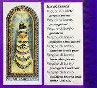 SANTINO HOLY CARD, VERGINE DI LORETO -RIF. 7867