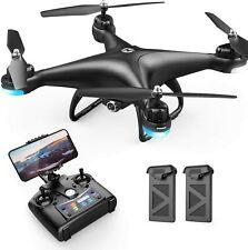 Holy Stone HS110D FPV Drohne mit 1080P HD Kamera RC Quadrocopter Drone 2 Akkus
