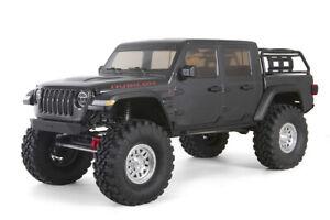 Axial 1/10 SCX10 III Jeep JT Gladiator RTR RC Rock Crawler - Grey...