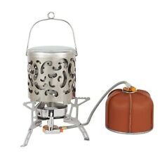 New listing Outdoor Camping Hiking Mini Heater Warm Stove Burner Hollow Handle Portable Sets