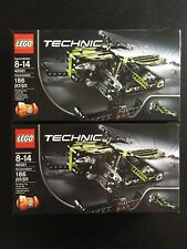 LEGO TECHNIC 42021 Snowmobile Set x2 - FACTORY SEALED Sets - RETIRED