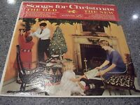 """""""Songs for Christmas The Old/New"""" RCA VICTOR LP PR-132 FIRST PRESS JEWEL FOOD"""