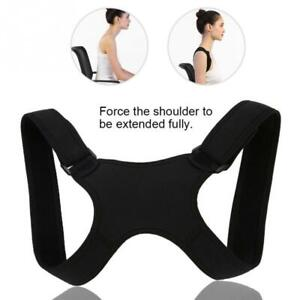 Posture Corrector Body Brace Bad Back Lumbar Shoulder Support Belt For Women Men