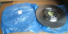 NEW GENUINE AUDI A3 TT FRONT BRAKE DISCS PAIR JZW615301G AUDI ECONOMY PART