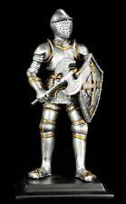 CABALLERO Figura con hacha & Letrero - Armadura Decoración armadura de caballero