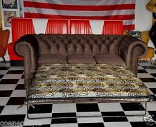 Chesterfield Schlaf  3er Sitz  Bett-Sofa Schlafsofa mit