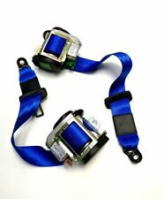 FORD FOCUS ST RS MKII  FRONT SEAT BELTS SET - BLUE
