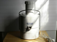 Jack Lalanne White Power Juicer Model CL-003AP Great condition
