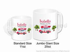 Personalised Gift Ice Cream Van Jumbo Mug Cone Scoop Driver Vendor Present #3