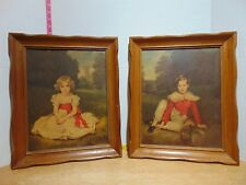 H Volkmann Prints Little Princess & Lord Seaham Frames by Franklin Frame Co