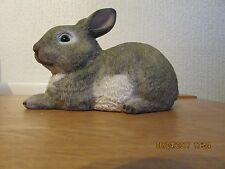 """thick latex mould mold of a laying rabbit 7"""" x 3,5"""" x 4.5"""""""