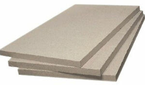 Fire Bricks Quality Vermiculite Board 600mm x 500mm x 25 Cut your own any size