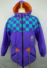 Vintage OP Ocean Pacific Womens Winter Full Zip Hooded Jacket Size Medium M