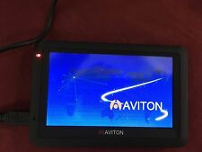 "Aviton AZ391MA 4.3"" Portable Navigation Device GPS Windows CE 6.0 Core Working"