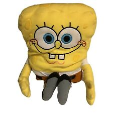 "Vintage Nickelodeon SpongeBob Laugh Pants 24"" Feature Plush Stuffed Animal 2002"