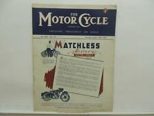 Aug 1947 The Motorcycle Magazine Matchless Douglas Red Rose Trial BSA L8591