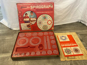 Vintage 1967 KENNER'S Spirograph Set #401 Drawing Game In Original Box!