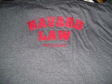 HARVARD LAW  T-SHIRT 7XL NEW