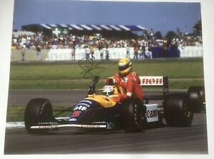 "Ayrton Senna / Nigel Mansell Iconic ""Taxi for Senna"" Signed Print - COA"