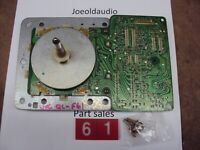 JVC QL-F61 Turntable Motor Board Assembly. Tested. Parting Entire QL-F61