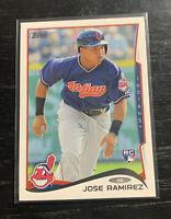 Jose Ramirez RC 2014 Topps #424 Cleveland Indians