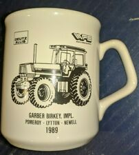 Deutz Allis Ford White Coffee Mug 9190 Tractor 1989 Pomeroy Lytton Newell, IA