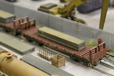 BULKSCENE - MODEL STEEL SLABS 90mm x 16mm (x3) OO GAUGE WAGON LOADS 1/76 - NEW