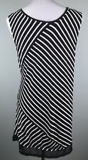 Steven Edwards White Sleeveless Blouse//Tank X-Small NEW WITH TAGS