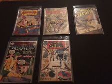 5 DC Silver Age Comics 10 and 12 cents Batman Sea Devils 1 Adventure 238 Sci Fi