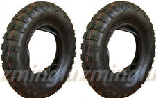 NEW Two 3.50 - 8 TIRE & Inner Tube for Honda Z50 Mini Trail Front Rear