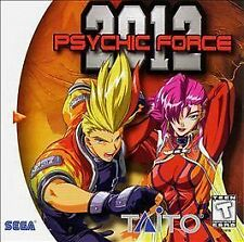 Psychic Force 2012 (Sega Dreamcast, 1999) - Japanese Version