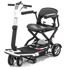 Pride GO-GO Folding Travel Mobility Scooter SLA Battery S19 + Armrests - BUNDLE