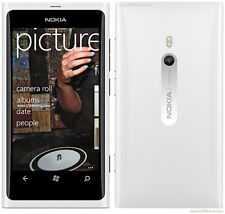 "White New original Nokia Lumia 800 16GB (Unlocked) windows Smartphone 8MP 3.7"""