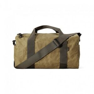 Filson Field Duffle Bag Small 70110 Oil finish Tin Cloth Dark Tan Brown 11070110